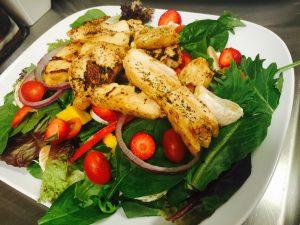 Yah Mon Tampa Caribbean Restaurant Chicken Salad