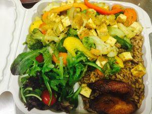 Yah Mon Tampa Caribbean Restaurant Tofu